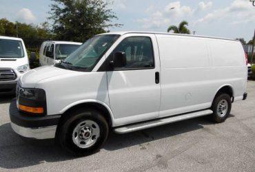 2018 GMC Savana 2500 Cargo Van 5,800 Miles V8 Work Van, More Vans! – $23900 (2500 Work cargo van)