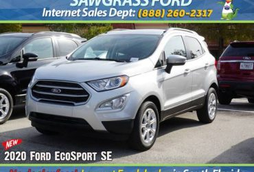 2020 Ford EcoSport SE – Stock # 82952 Financing available – $21332 (📞954-851-9084 📞)