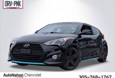 2015 Hyundai Veloster Turbo SKU:FU225201 Coupe – $11267 (Call *305-768-1767* for Instant Availability)