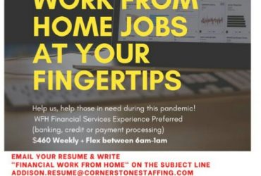 Work From Home Job- OVER 200 OPENINGS- Apply today!
