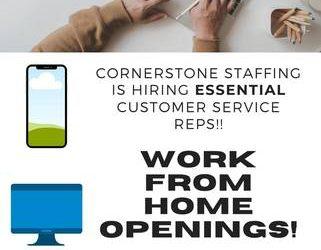 $$ Immediate Work from Home Customer Service Opportunity