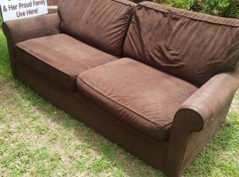 Free old couch (Raleigh)