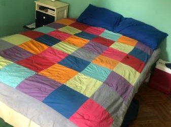 Wooden Bed Frame and/or Matteess (PLG/lefferts garden)