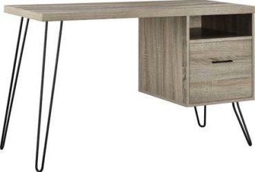 Free wooden desk small – LEG NEEDS REPAIR (Brooklyn)