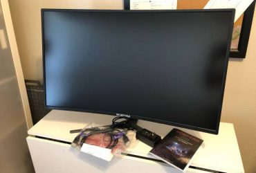 Sceptre 32 Inch Curved Gaming Monitor – $220 (ORLANDO)