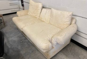 White Couch Need Gone Today