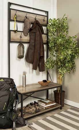 Floor, lamp, cabinets, coat hanger, wire rack (Chelsea)