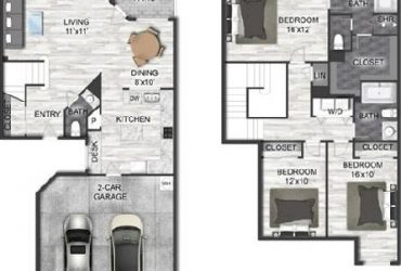 $1759 / 3br – 1488ft2 – TH 1 Month FREE 2 Car Garage, $0 Deposit, Gated Entry,Fitness Ctr. (Houston/Jersey Village/Pleasant Colony)