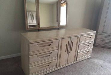 Bedroom furniture, wall unit, office furniture (Aventura)