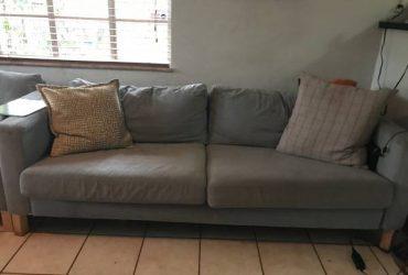Curb alert – free IKEA sofa (St Petersburg FL)