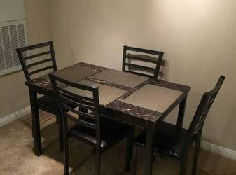 DINING TABLE SET AND CHAIRS FREE! (Dallas)