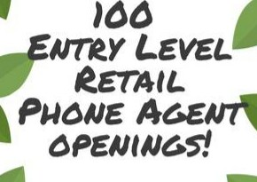 100 Retail Call Center Agents to start 6/19! (Downtown Dallas)