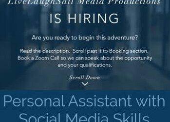 Social Media & Personal Assistant (Medical Center Area)