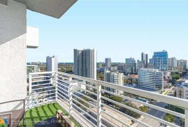 $1200 / 1255ft2 – Downtown Fort Lauderdale Furnished Penthouse for Rent (Fort Lauderdale)