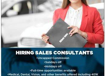 **US Auto Sales is hiring (Greensboro)
