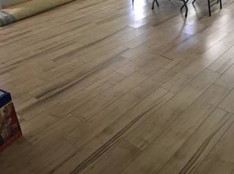 Laminate flooring! (Winter Garden)