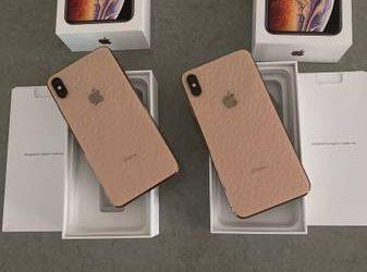 2 IPhone XS Max 64G – $1140