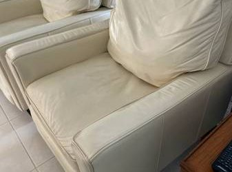 2 Leather recliners FREE (NE Fort Lauderdale)