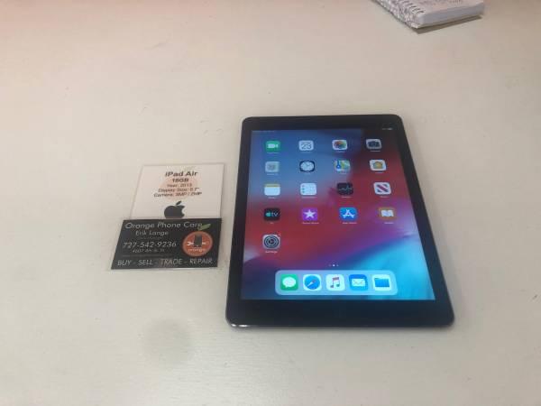 iPad Air 16gb WiFi *6 Month Warranty* – $129 (St Petersburg)