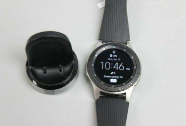 Samsung Galaxy Watch SM-R800 46mm Silver Case Classic – $200 (BROWARD)