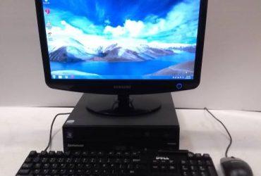 lenovo thinkcentre duo core, 4gb, 250gb hd complete pc desktop system – $80 (Starke)