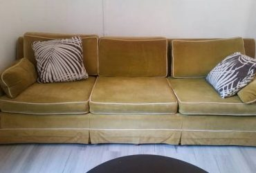 "Free 91"" midcentury sofa – must pickup 7/15/2020! (North Palm Beach)"