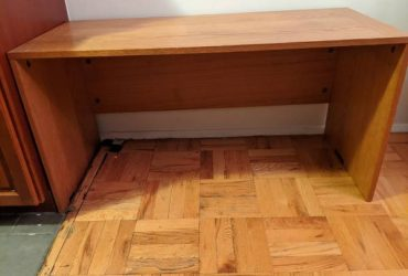 low wooden side table (Fort Greene)