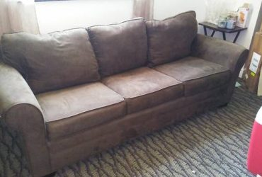 BROWN SOFA-BED (CITYPLACE)
