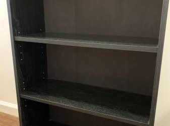 Black bookcase (Midtown West)