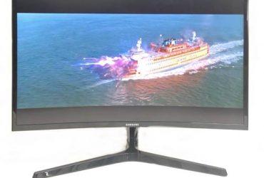 "Samsung – C27F396FNH 27"" Monitor (Margate)"