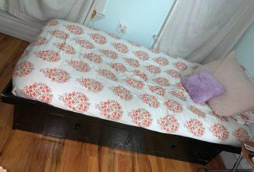 Moving!!! FREE Twin Bed (Brooklyn)