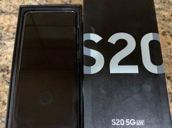 New Samsung Galaxy S20 5G UW 128 GB / Verizon – $750 (South Florida)