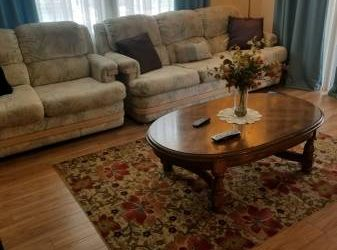 Free – Sofa/Loveseat and Queen Mattress sets (Countryside / Clearwater)