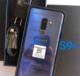 New Condition Samsung Galaxy S9 Plus (Factory Unlocked) 64GB – $349 (Fort Lauderdale)