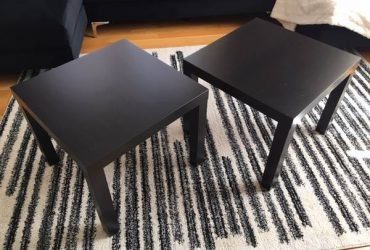 Free IKEA End/Side Tables – Set of 2 (Inwood / Wash Hts)