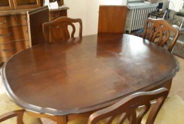 Solid wood dining room set (Astoria)