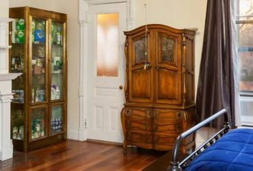 FREE French Provincial Armoire Plus glass cabinet (Upper West Side)