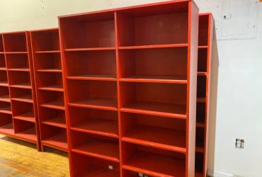 Free shelves / bookcases / front desk (Williamsburg)