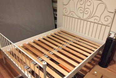 IKEA LEIRVIK Queen Bed (Brooklyn)