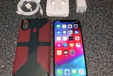 Apple iPhone X 256gb Silver UNLOCKED GSM Ready to Activate Like New – $570 (South Beach)