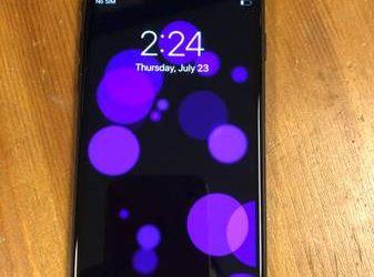 iphone 7 factory unlocked 128GB black – $260 (Boca Raton)
