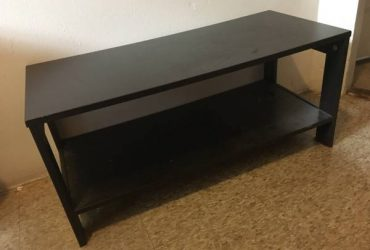 Small black shelf (Crown Heights)