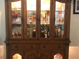 Dining Table and China Cabinet (Fort Lauderdale)