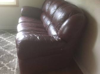 Free Sofa Chair and Ottoman (Debary)