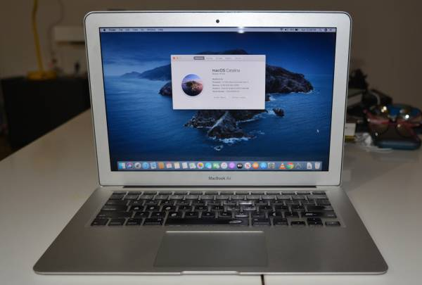 Apple MacBook Air 13 A1468 Mid 2013 Laptop i7-4650U, 8GB RAM, 500GB SS – $420 (27 av coral way)