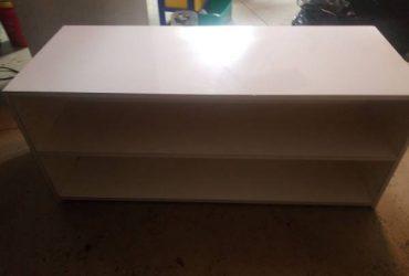 Free white desk/storage unit (Brandon)