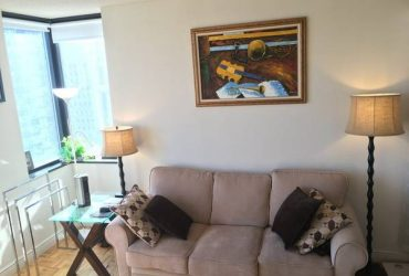 $1490 Bedroom with water view, furnished (Battery Park)