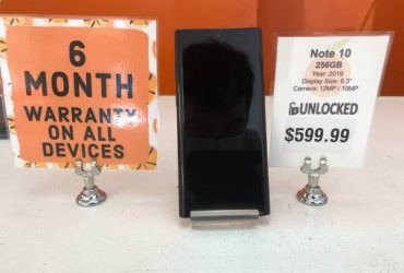 Galaxy Note 10 256GB Unlocked *6 Month Warranty* – $599 (St Petersburg)