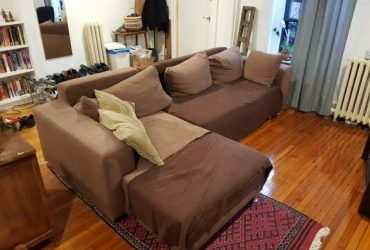 Large L shaped couch (Fort Greene)