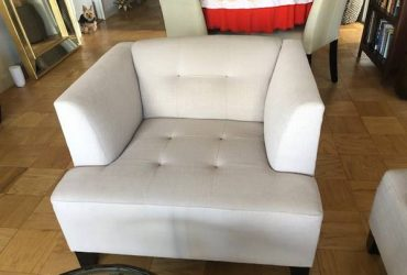 Matching Sofa and Chair (Upper East Side)